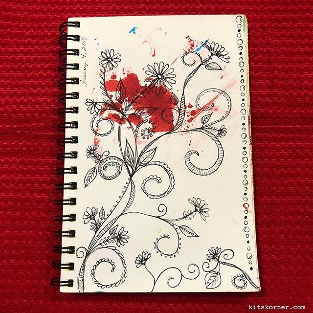 TBT : 2014 Sketchbook Doodles 2/4/014