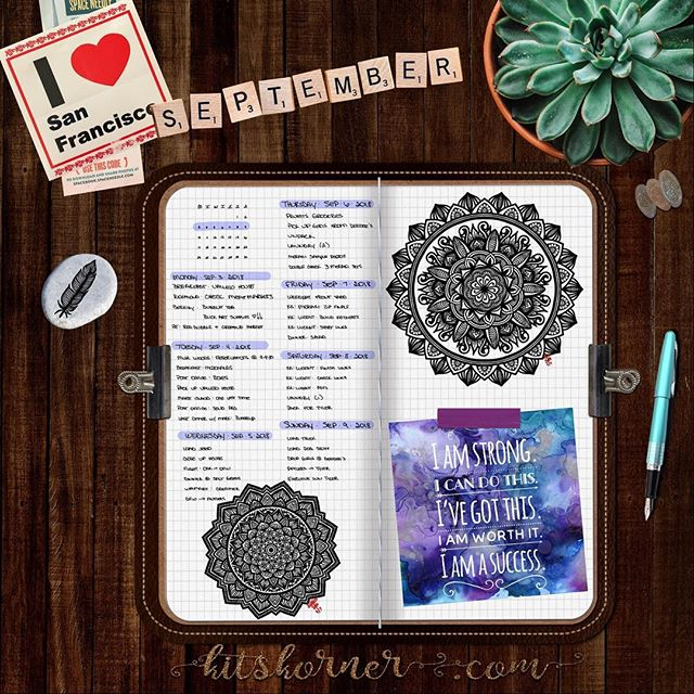 Sept 3-9 in my Digital Bullet Journal.. #BuyYoursOnEtsy?