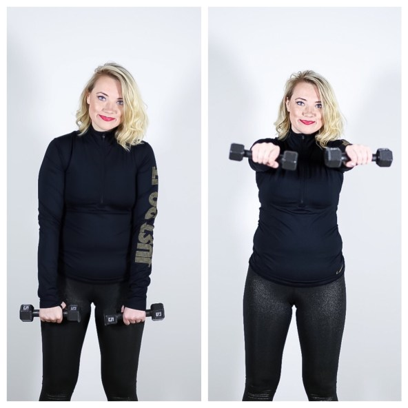 Front Lateral Raise for Toned Arms