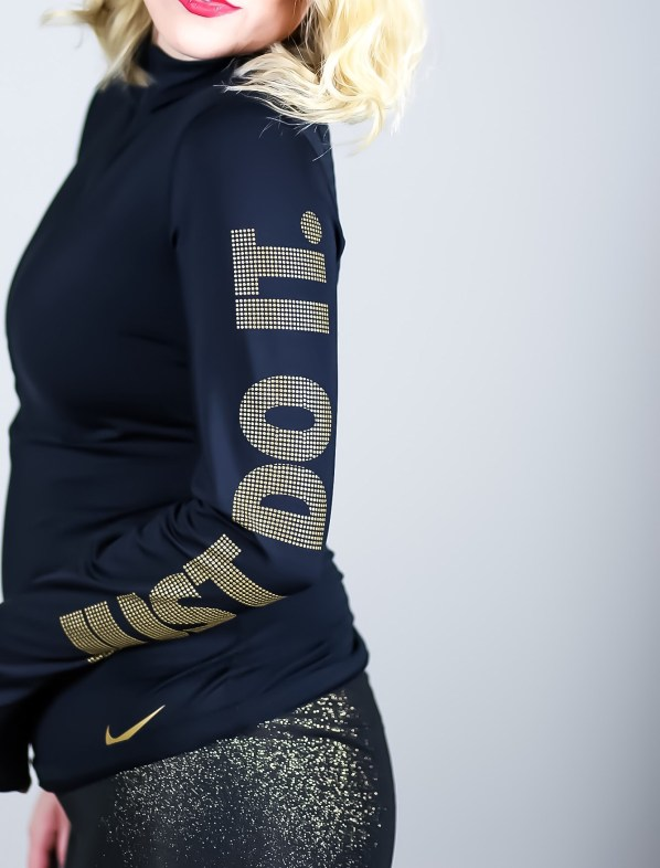 Black and Gold Nike Outfit