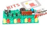 Happy Birthday LED Flashing DIY Kit using CD4060 and Music Chip