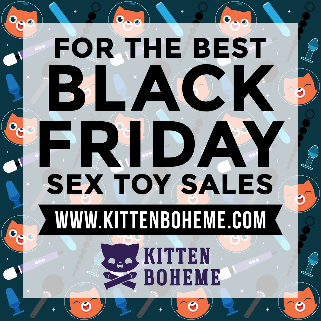 Black Friday 2017 Sex Toy Sales Shopping Guide at KittenBoheme.com