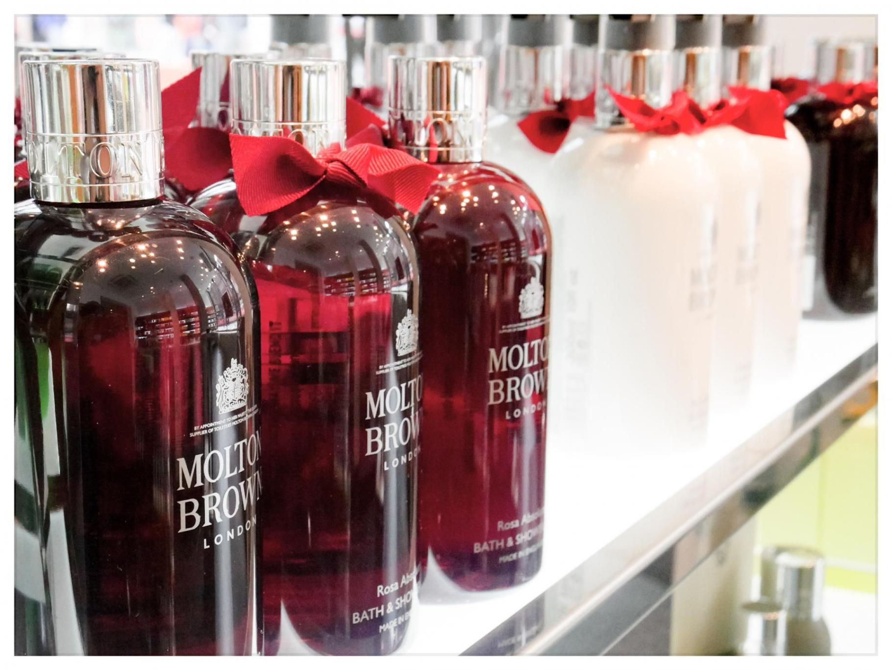 Free Molton Brown Pampering| Rosa Absolute