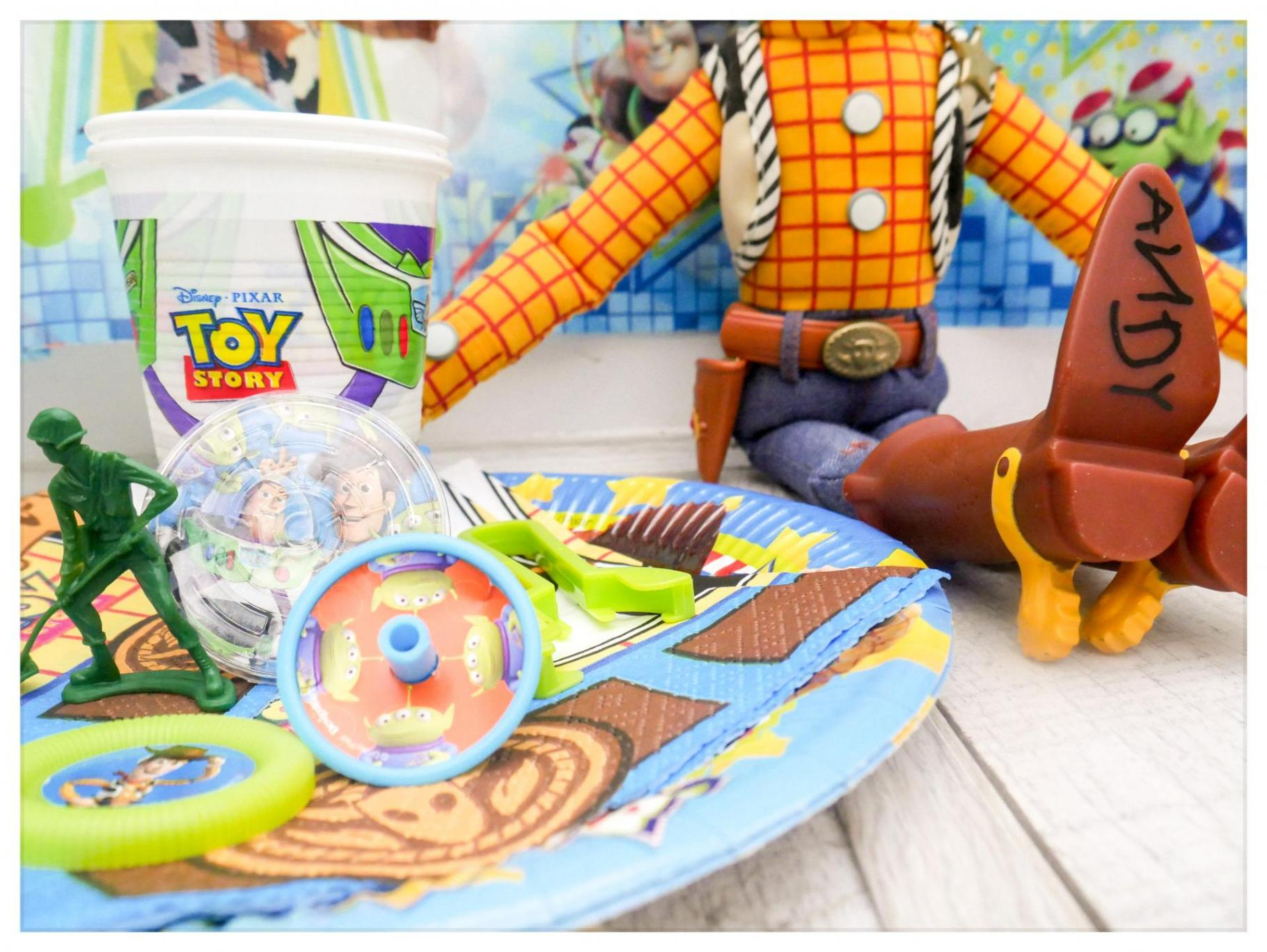 A Toy Story Party with 8 essential kids' party planning tips