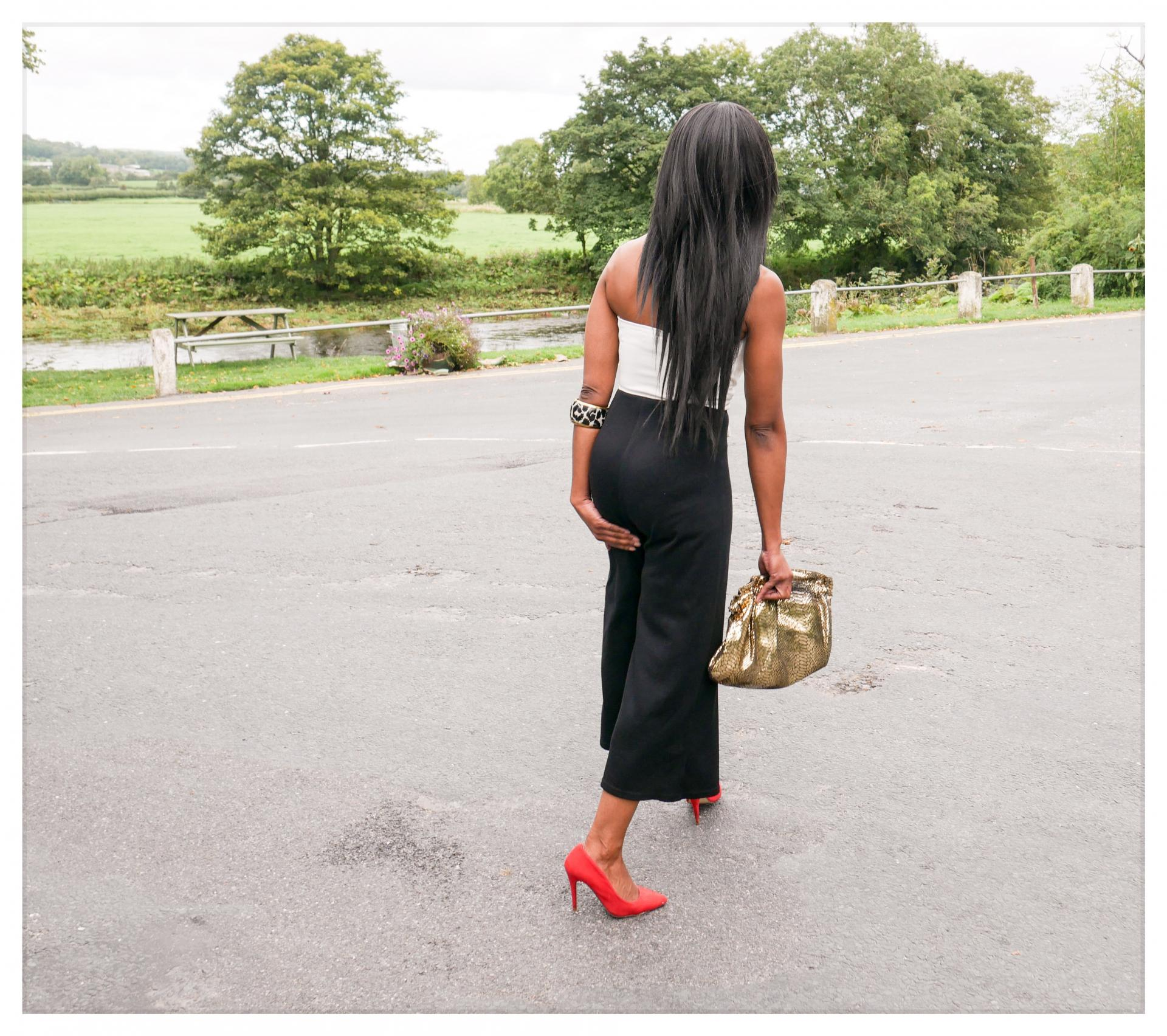 Dressy Jumpsuit   Wedding Guest Outfit Inspiration   This £30 jumpsuit was the perfect last minute outfit for a very special occasion and I have some other great alternatives to share   See more: www.kittyandb.com