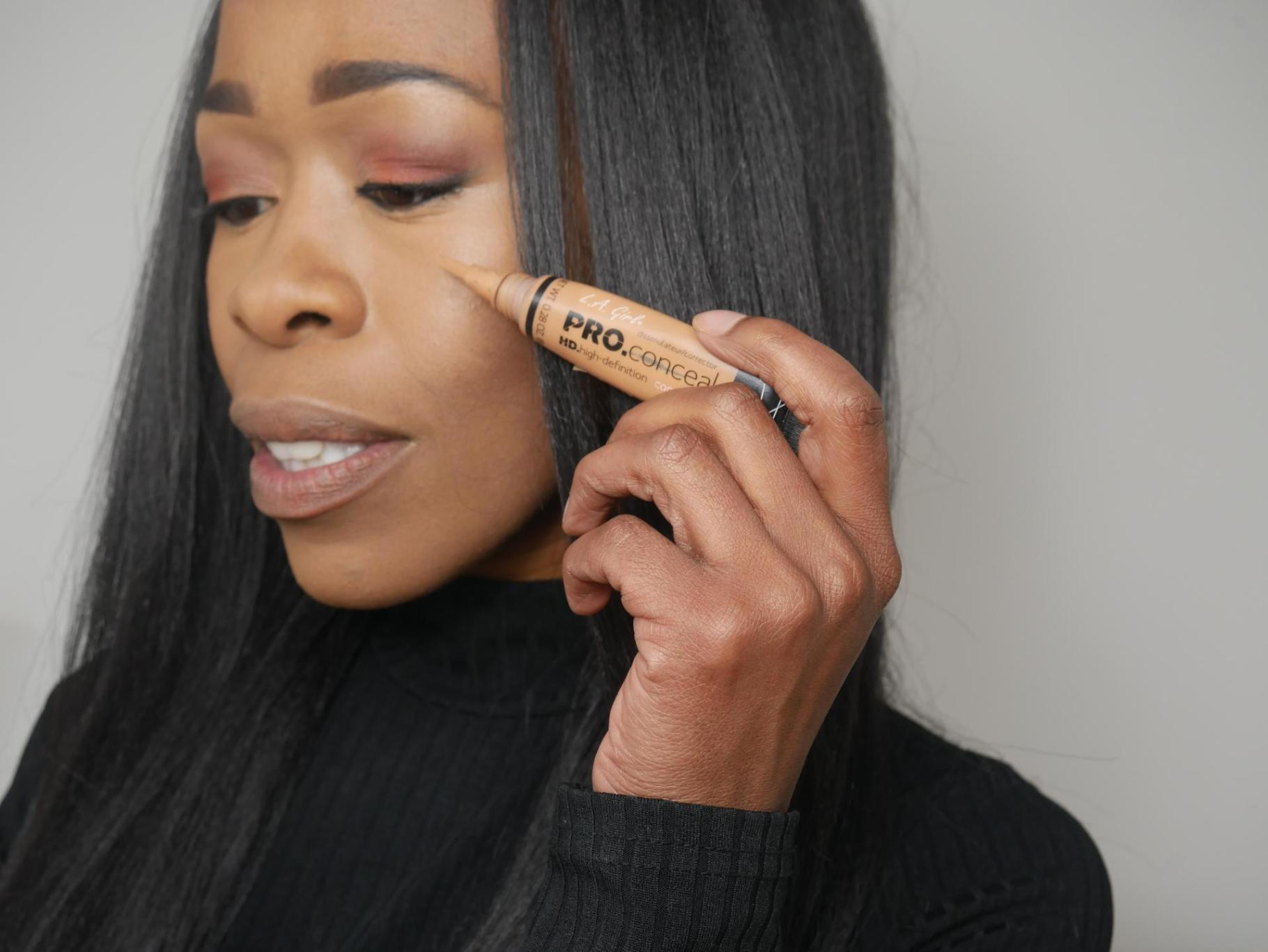 Testing A Full Face Of Cruelty Free Makeup= WOC friendly | Drugstore #1 | www.kittyandb.com