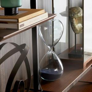 Blue Sand Hourglass