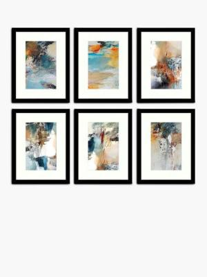 6 Abstract Art Framed Prints
