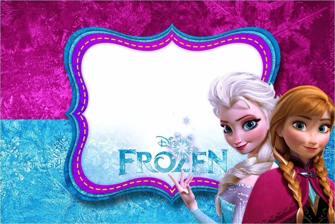 24 Heartwarming Frozen Birthday Invitations