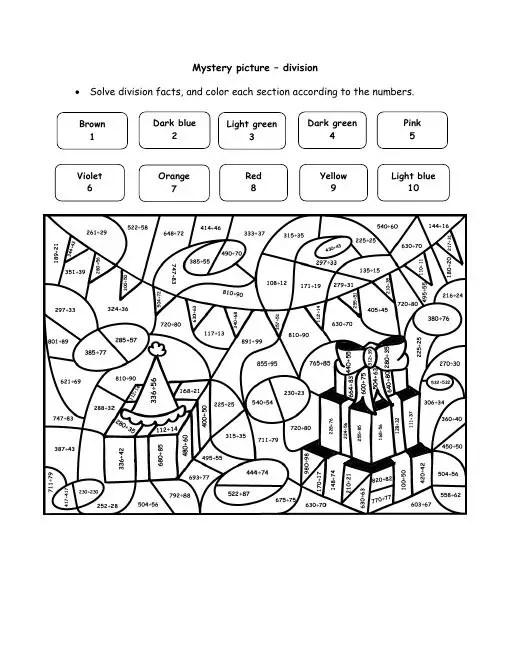 Image Result For Division Worksheets 3rd Grade Free Printable