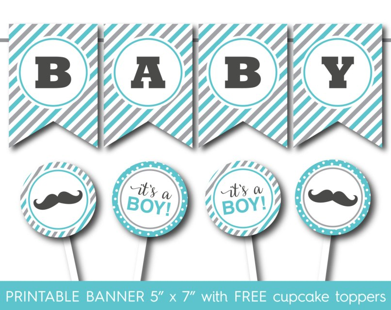 Free Printable Banner Letters Baby Shower Jidiletters Co