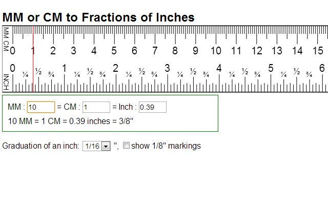 Printable 6 Size Ruler Actual