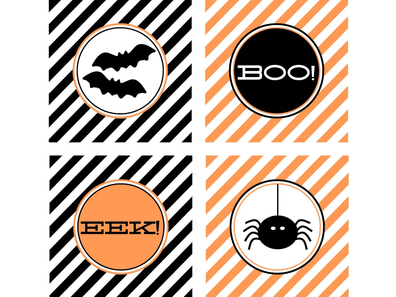 48 Spooky Halloween Labels For You