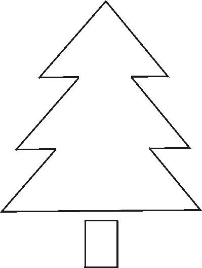 50 Christmas Tree Printable Templates Kittybabylove Com
