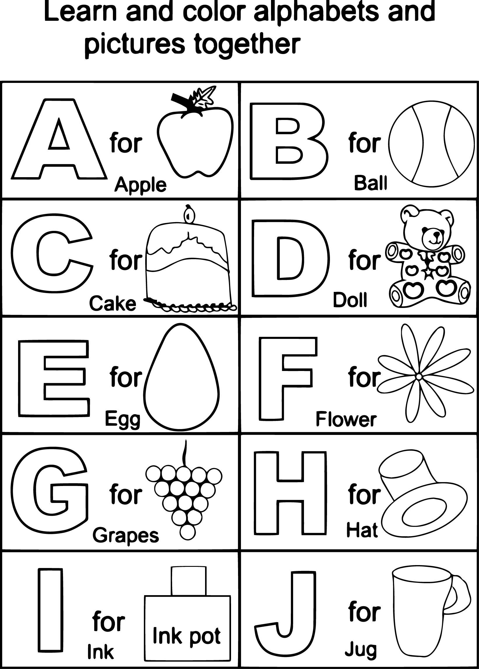 60 Alphabet Flash Cards To Print For Making Learning Fun
