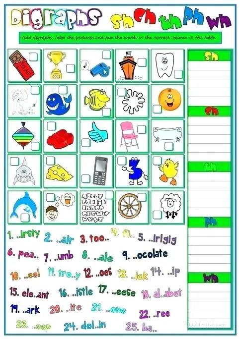 80 Fun Phonics Worksheets