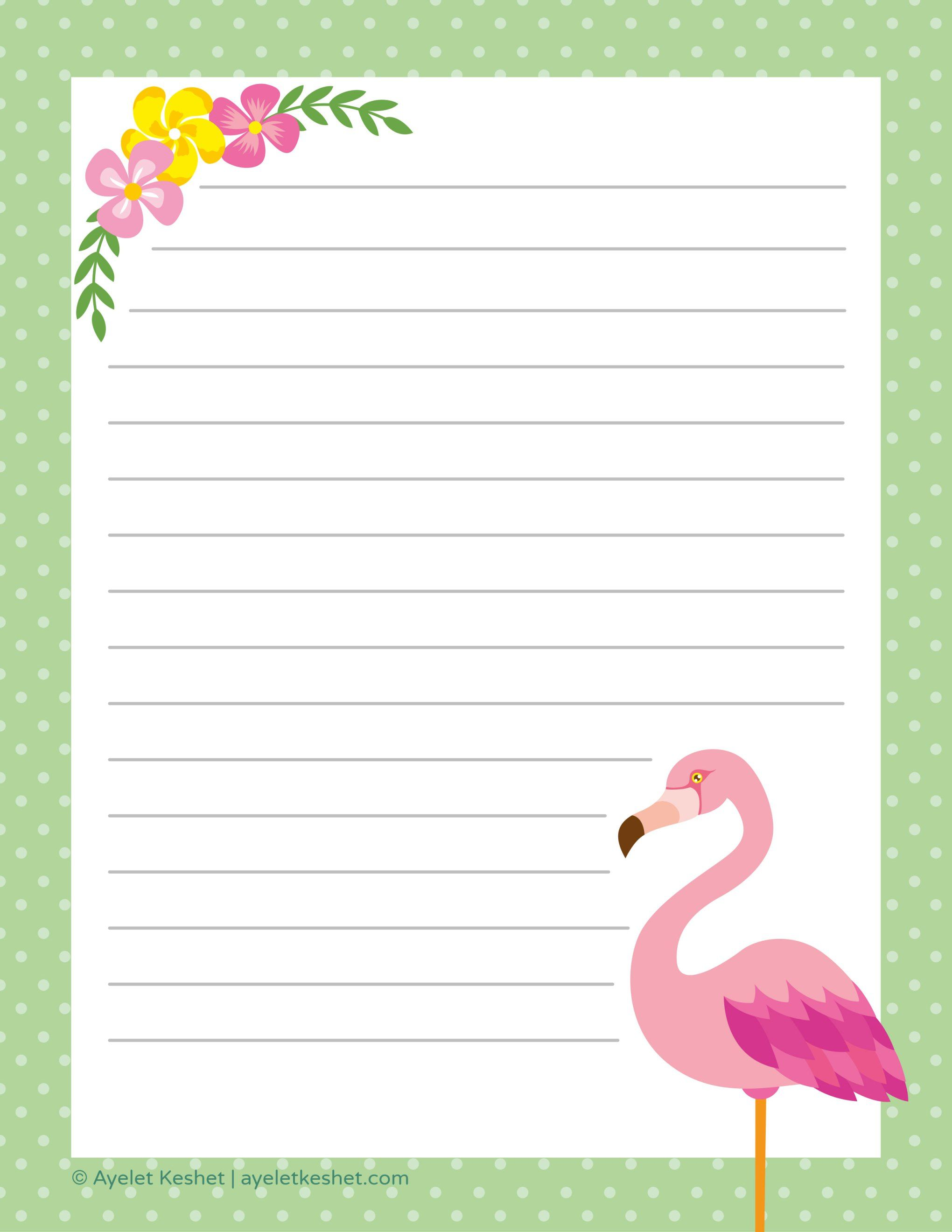 48 Pretty Letter Writing Paper