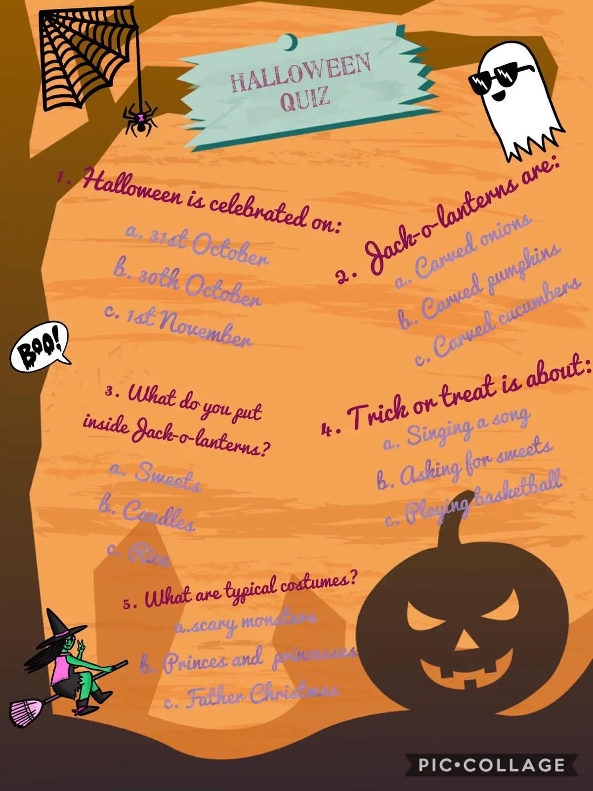 36 Fun Halloween Trivia