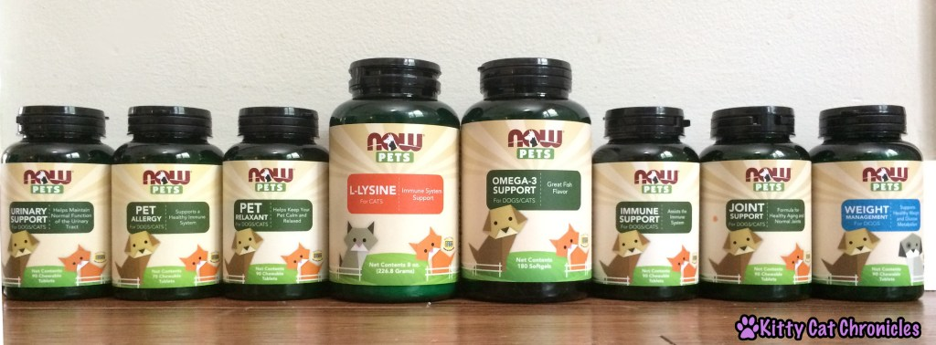 NOW Pets Supplement Line - Sweepstakes