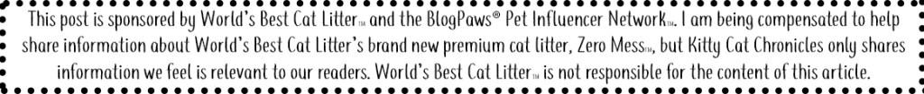 Sponsored by World's Best Cat Litter