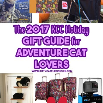 The 2017 KCC Holiday Gift Guide for Adventure Cat Lovers