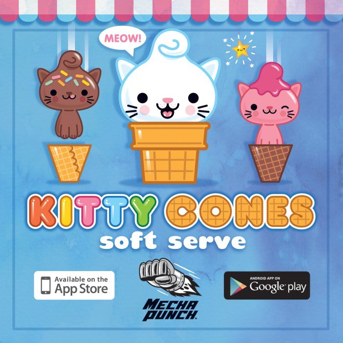 Kitty Cones Game App!