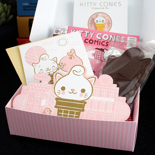 Kitty Cones Gift Set