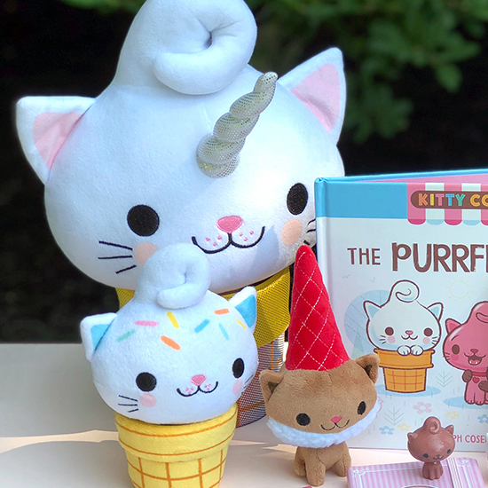 Kitty Cones books, toys, and more!
