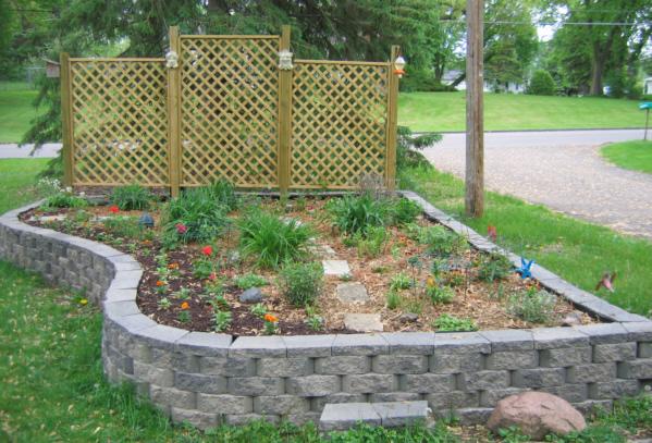 Building Raised Garden Bed Plan