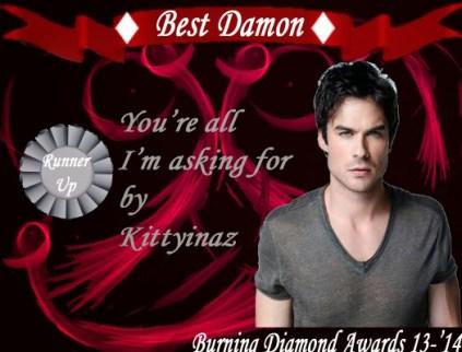 Best Damon You're Runner Up