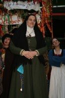 Kitty Martin as Prioress in CANTERBURY TALES for the lions part