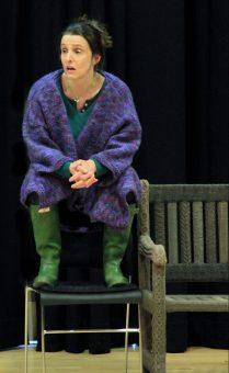 Kitty Martin as Betty in YARNING