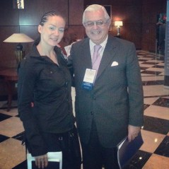 kitty sanders with Alberto Solanet