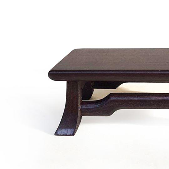 tavolino da esposizione per bonsai
