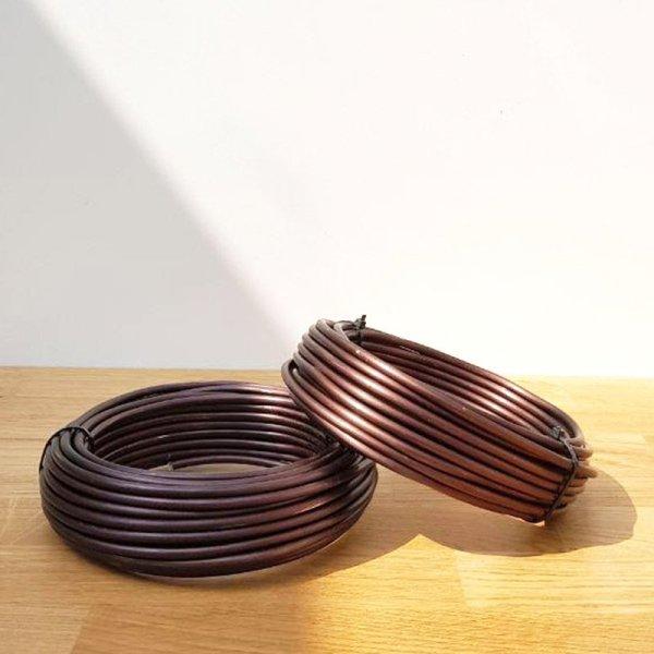 filo in alluminio ramato per la legatura dei rami nei bonsai