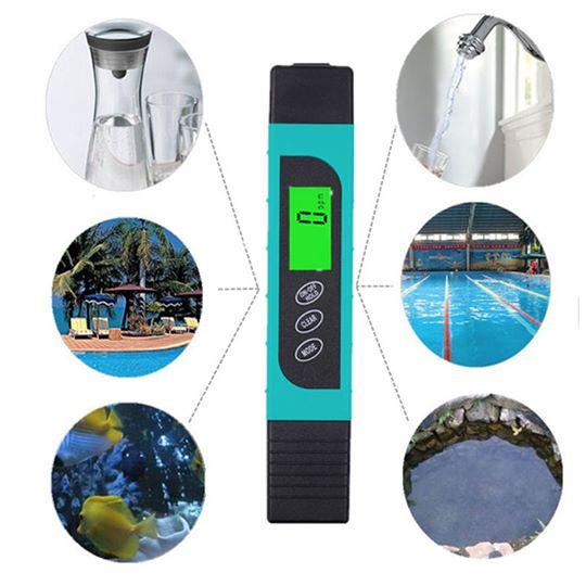 misuratore qualità dell'acqua per bonsai