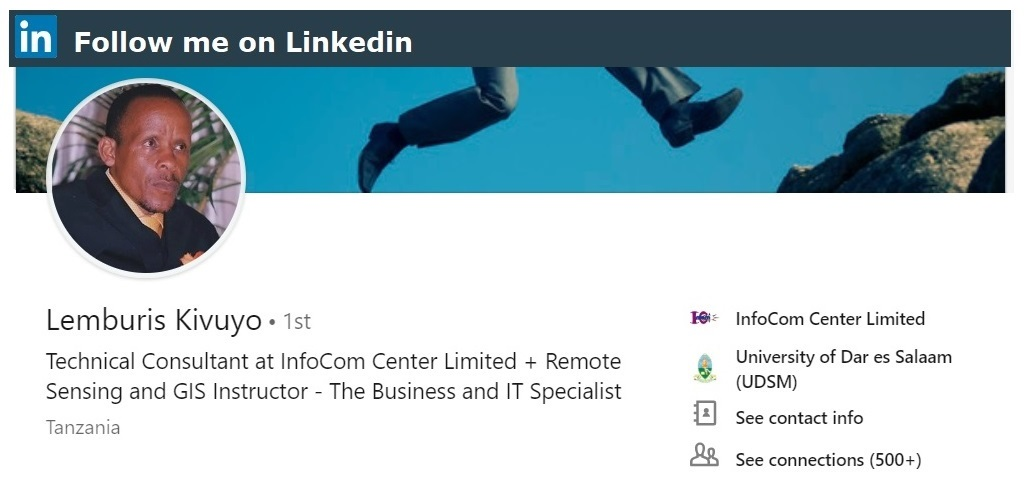 Follow me on Linkedin
