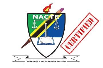 NACTE Certified Curricula