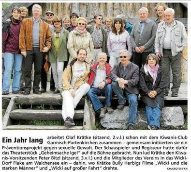Besuch Walchensee