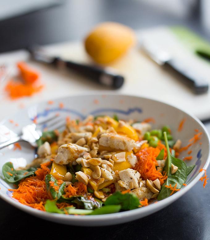 Sesame Ginger Chicken Salad