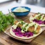Kodiak Cakes Fish Tacos