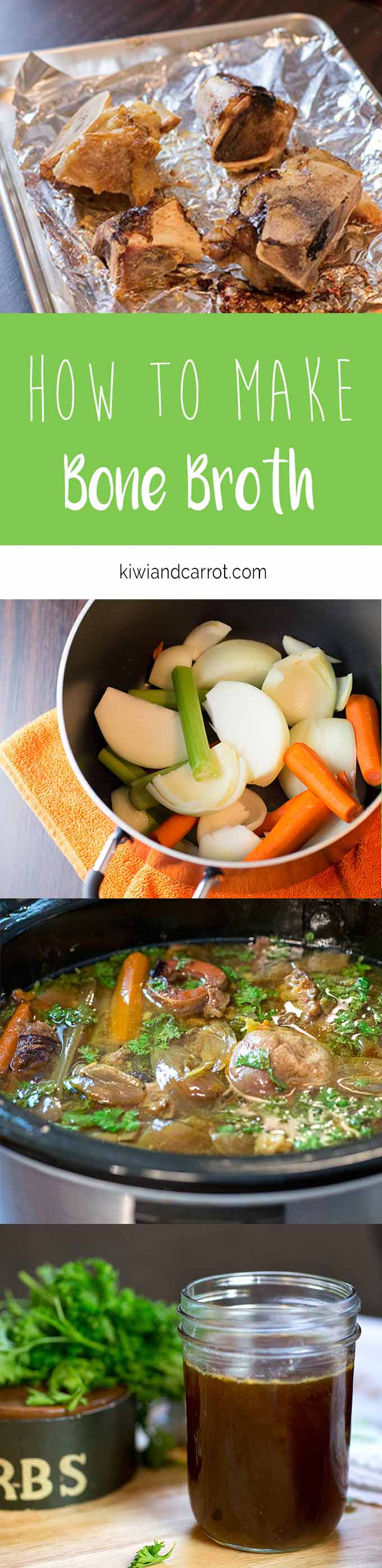 Step-by-step instructions of how to make bone broth