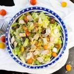 Chicken Couscous Caesar Salad