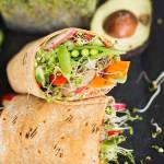 Veggie Wraps with Sun-dried Tomato Cream Cheese