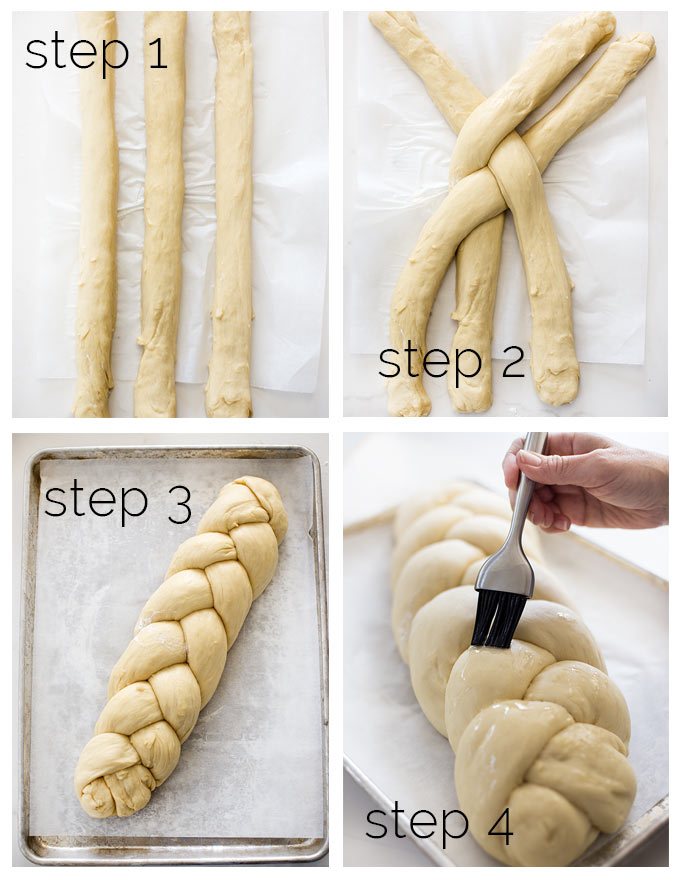 How to Make Challah Bread...slightly sweet, light and fluffy, braided Jewish bread! Easy step-by-step instructions for the perfect loaf!