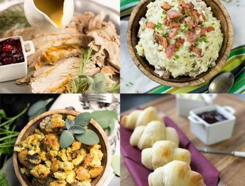 All the recipes you need for a Thanksgiving Feast! From the rolls to the turkey, to the stuffing and dessert, we gotcha covered!