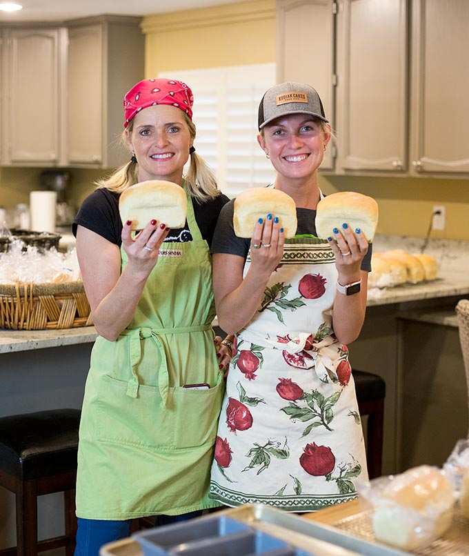 "Our latest Fellow Foodies ""Wheat and Spoon"" make homemade soups and bread each week for 80 lucky customers! This is their mother-and-daughter story about their journey towards creating soulful food together."