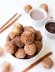 Baked Churro Poppers
