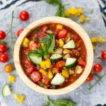 Quick and Easy Gazpacho Dip