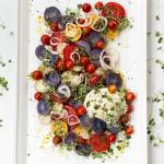 Herbed Potato Salad with Fresh Tomatoes and Burrata